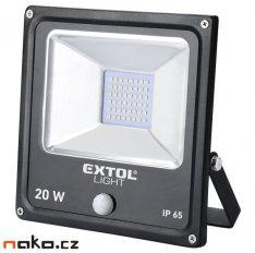 EXTOL LIGHT 43232 reflektor LED s pohybovým čidlem 20W 1400lm
