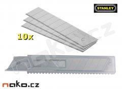 STANLEY čepel náhradní 18mm ulamovací 0-11-301, 10 ks
