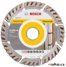 BOSCH diamantový řezací kotouč Standard for Universal 125x22mm 2608...