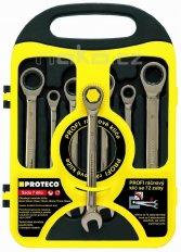 PROTECO SRK772 sada klíčů ráčnových (7ks)