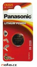 Baterie Panasonic CR2025 lithium 3V