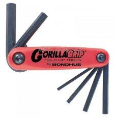 BONDHUS 12587 Gorilla Grip sada imbus klíčů (2,2.5,3,4,5,6,8mm)