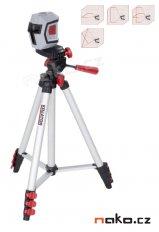 KREATOR KRT706220T1 samonivelační křížový laser se stativem