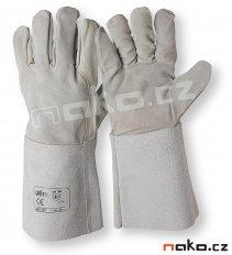 ISSA rukavice celokožené svářečské ze štípené hověziny 07127