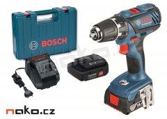 BOSCH GSR 14,4-2-LI Plus Professional aku vrtačka 2x2Ah Li-Ion v ku...