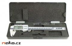 EXTOL Premium měřítko posuvné digitální 150mm NEREZ 8825225