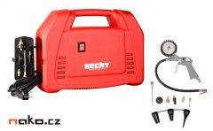 HECHT 2883 přenosný kufříkový bezolejový kompresor