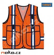 NAREX RV-8K profeionální reflexní vesta s kapsami 00764439