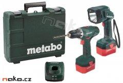 METABO BS 12 NiCd aku vrtačka 12V + lampa 602194600