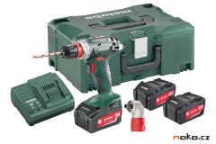METABO BS 18 Quick Set aku vrtačka 18V 3x4.0Ah 602217960