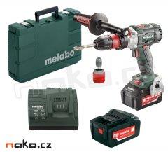 METABO GB 18 LTX BL Q bezuhlíkový aku závitořez a vrtačka 2x5,2Ah L...
