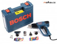 BOSCH GHG 660 LCD Profesional horkovzdušná pistole s příslušenstvím 0601944302