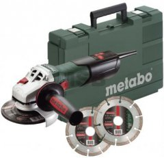 METABO W 9-125 Quick Set 600374510 + 2x dia kotouč
