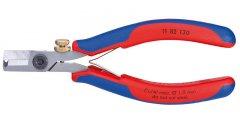 KNIPEX 1182130 kleště na odstranění izolace pro elektroniku