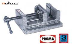 PROMA SVV-100 prismatický svěrák pod vrtačku s vyššími čelistmi 25000194