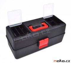 LEMCO 1260 kufr na nářadí plastový 335mm, polička P1200, organizery...