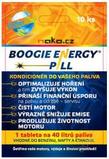 BOOGIE ENERGY PILL kondicionér do paliva DifferEco 10 tablet