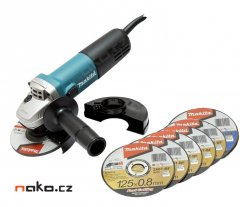 MAKITA 9558HNRX1 úhlová bruska 125mm 840W