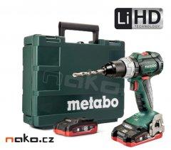 METABO SB 18 LT BL příklepová aku vrtačka 2x3,1Ah LiHD 60231667
