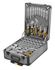 PROTECO 42.04-1122 sada ručního nářadí v kufru na kolečkách, 245 dí...