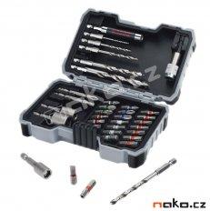 BOSCH PRO-mix sada bitů, nástrčných klíčů a vrtáků 2607017327