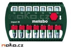 METABO 628850 sada rázových bitů Impact 49, 7 dílů
