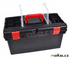 LEMCO P1880 kufr plastový 520mm se zásobníky a rozkládací poličkou P1802