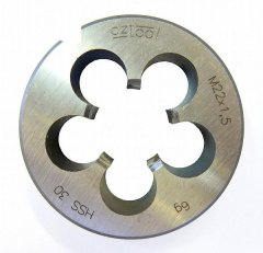 Závitová kruhová čelist 223210HSS M4x0,5 /240 041/ 6g