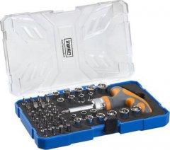"""NAREX 61-Tool Box sada bitů a hlavic s ráčnou ERGO-NX 1/4"""" 61 dílů ..."""
