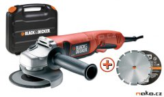 BLACK & DECKER KG1200KD úhlová bruska