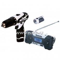MAKITA DK1499W sada aku strojů HP330DZ+ML100+MR051
