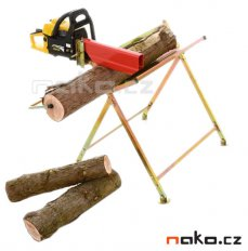 MAGG 120009 koza na řezání dřeva s držákem řetězové pily