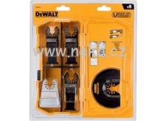DeWALT DT20715 sada 5 ks listů pro řezání dřeva, dřeva s hřebíky, sádrokart. desek a PVC