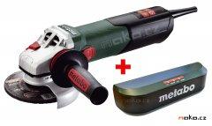 METABO WEV 15-125 Quick úhlová bruska s regulací otáček + BLUETOOTH...