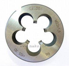 Závitová kruhová čelist 223210HSS M6 /240 060/ 6g