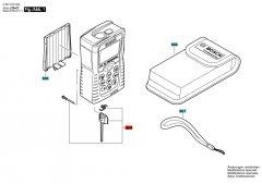 BOSCH 1609203X48 sada dílů pro výrobek 3603K16300 PLR50 - pozice 804