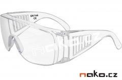 Ochranné brýle polykarbonátové čiré
