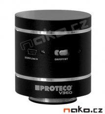 Vibrační reproduktor SPEAKER V360 černý HiFi -Bluetooth, USB