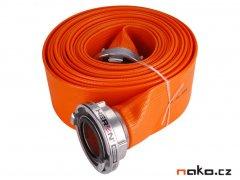 "HERON požární hadice B75 PVC Orange 10m se spojkami 3"" 8898116"