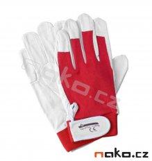 ISSA rukavice pracovní mikrovlákno a úplet 07202 vel.10