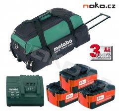 METABO set baterie, nabíječka, brašna