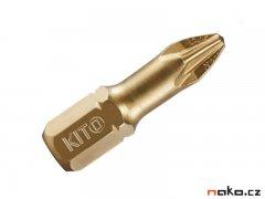 KITO bit PZ1 25 mm, S2 TiN 4820201