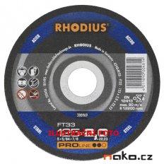 RHODIUS 115x2.0 FT33 PROline řezný kotouč na ocel