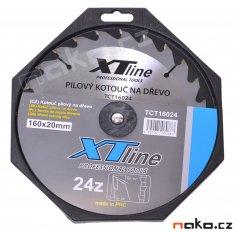 XTline pilový kotouč 160x2.6x20 24WZ TCT16024