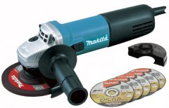 MAKITA 9558HNX1 úhlová bruska 125mm 840W