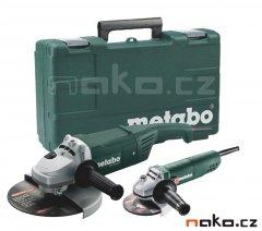 METABO combo set úhlových brusek v kufru WX 2200-230+W 850-125 6850...