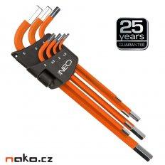 NEO TOOLS sada imbus klíčů 1,5-6mm 09-517