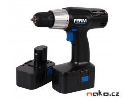 FERM EBF-1800 aku vrtačka Ni-Cd 2x1Ah CDM1105