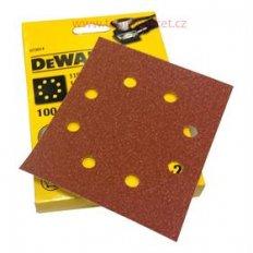 DeWALT DT3005 brusný papír 140x115mm P150 - 10ks