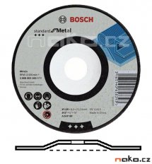 BOSCH 115x6mm brusný kotouč Standard for Metal 2608603181